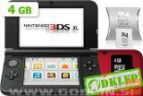 Nintendo 3Ds Rdeč + R4I Sdhc V2 + Microsd 4Gb + Sd 2Gb