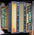 Harmonika, diatonična, PLANINC B ES AS, 36 cm, s kovčkom