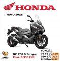 Honda NC 750 D Integra ABS + DCT (model 2016)