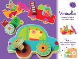 Djeco vozila z vijaki