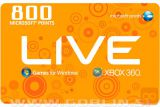 Xbox Live 800 točk (EU)