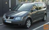 VW touran letve, strešne