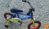 """Otroško kolo GATIC Lexar 12"""" s pomožnimi kolesi"""