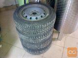 Platišča za Fiat Punto z zimskimi pnevmatikami