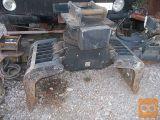 grajfer -klešče 4- 8 ton in planirka kot novo