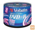 DVD-R 4,7Gb 16x 50-cake Verbatim