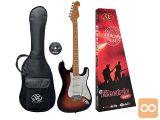 SX SST57 Električna kitara električne kitare Stratocaster