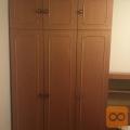 Spalnica, dve omari, postelja 180x190, komoda