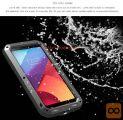 LG G6 Ohišje / etoi Love Mei, vodoodporen, aluminij, gorilla