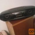 PANASONIC RX-DT505, RADIO-CD-2KASETNIK IZJEMNIH LASTNOSTI