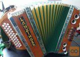 Diatonična harmonika Lanzinger C F B