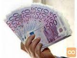 Posojilo 1000 € do 10000000 € v 48 urah