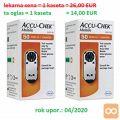 Accu-Chek Mobile, testni trak v kaseti za 50 testov