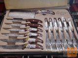 Komplet novih nožev - 22 delni