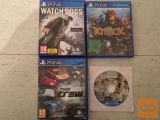 PS4 IGRE PLAYSTATION 4, FIFA,WATCH DOGS,THE CREW,KNACK