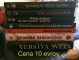 Prodam cena vsake knjige je 10 evrov