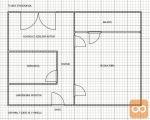 Moste-Polje Fužine 1-sobno 49,8 m2