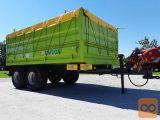 Umega UHF8, Traktorska tandem kiper prikolica