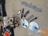 Noži kosilnic, freze in drobilnika